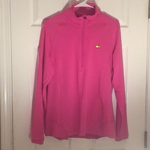 Masters, hot pink pullover! Never worn!